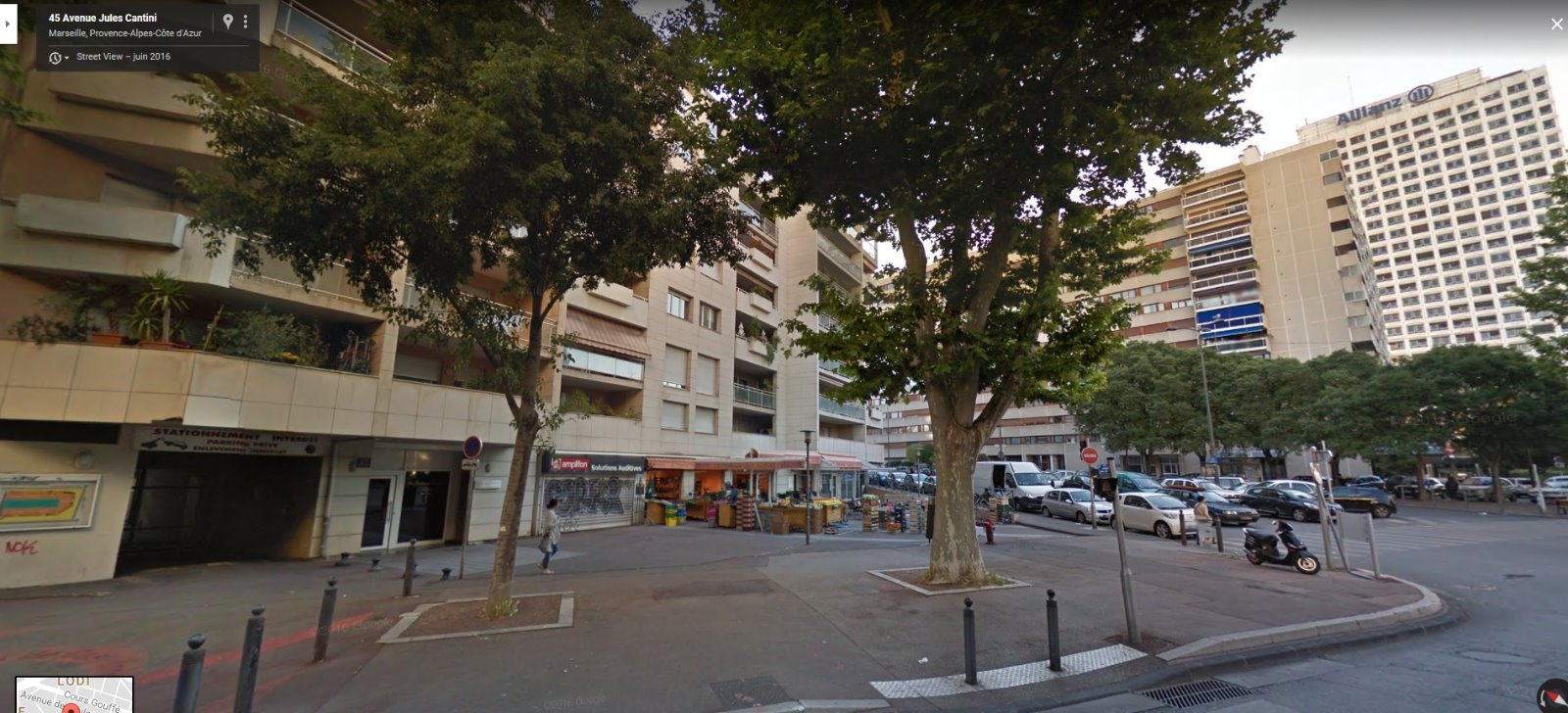 location garage cabot marseille 13009